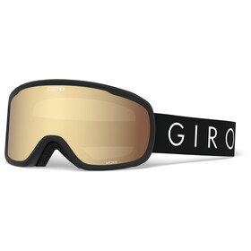 Giro Moxi Masque Femme, black core light/amber gold/yellow